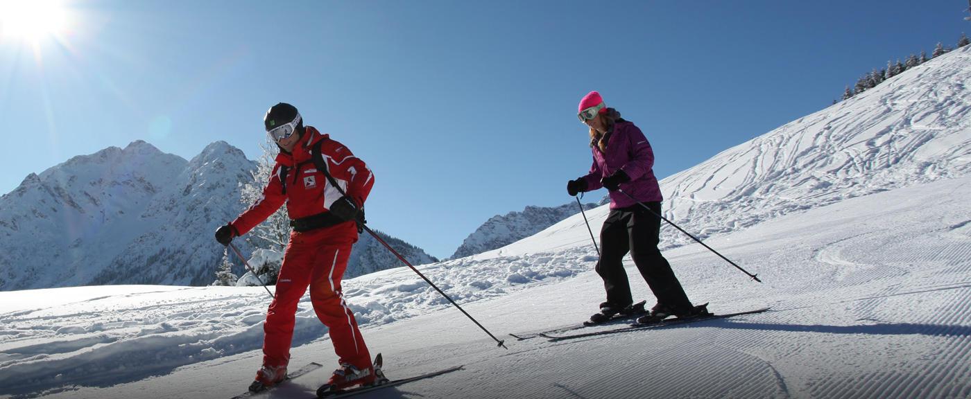 Tips voor wintersport groentjes #1