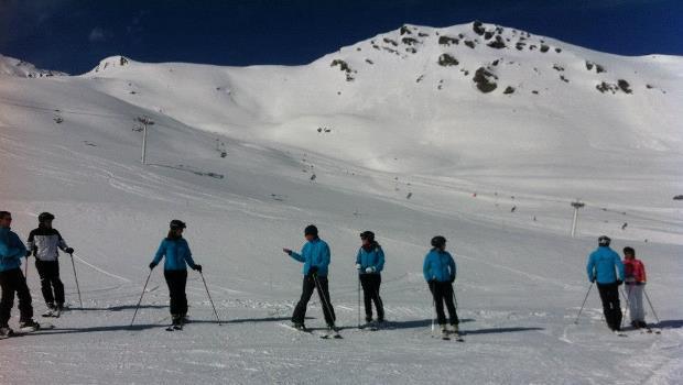 wintersport bedrijf