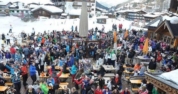apres-ski Hinterglemm Der Schwarzacher