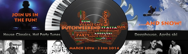 Feestprogramma Dutchweekend Italia 2014