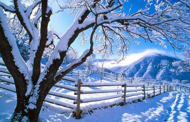 wintersport landscape