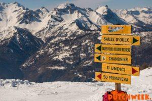 Aftellen tot het Dutchweekend Italia & Saalbach