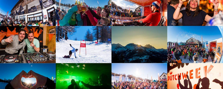 Dutchweekend Italia 2016: verse sneeuw, volop zon, gezellige feestjes en relaxte sfeer!