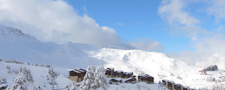 Verse sneeuw in de Alpen zorgt voor prachtige start novembermaand
