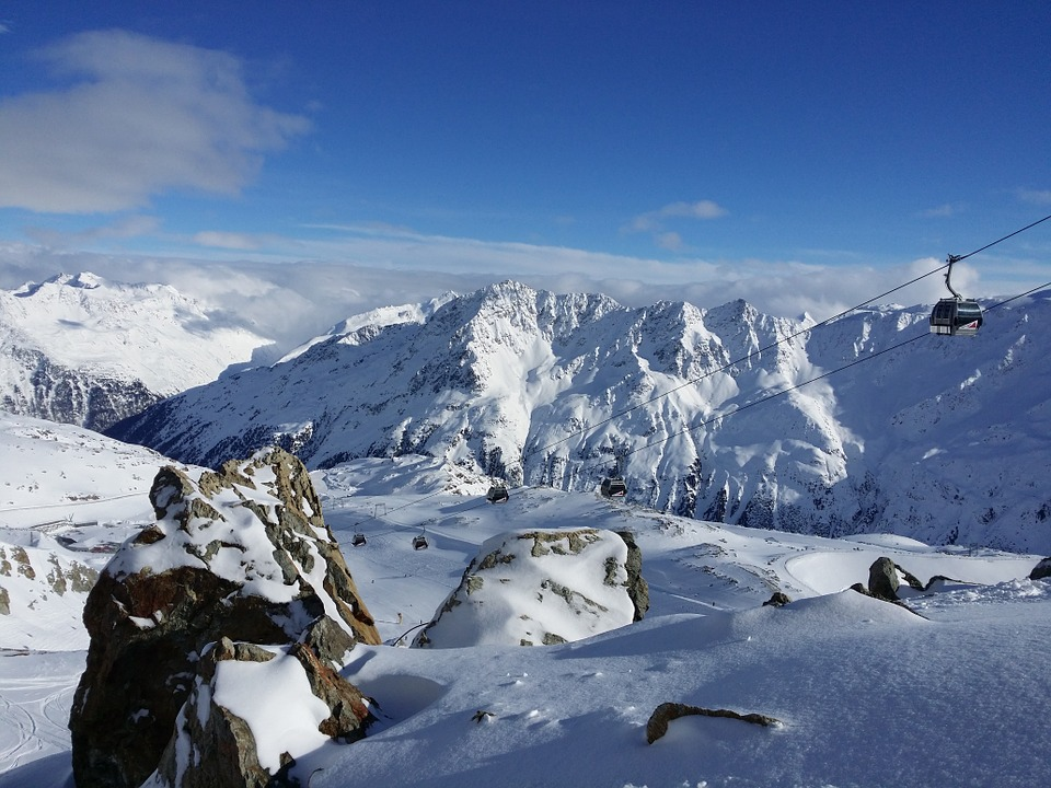 sneeuwzekere skigebieden