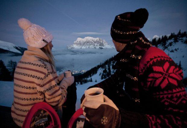 Valentijnsdag tijdens de wintersport