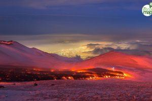 Wintersportnieuws: skiën langs de kokendhete lava en tot 5 meter sneeuw