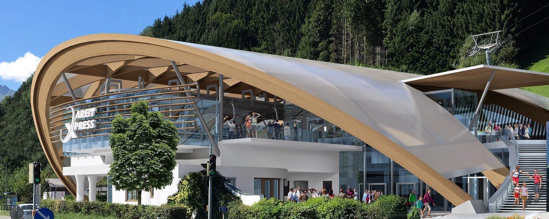 Nieuwe AreitXpress: halvering wachtrijen en flinke boost voor skigebied Zell am See