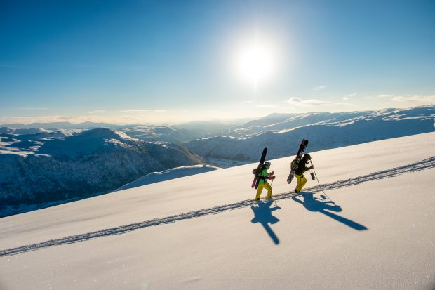 Backcountry skiing in Myrkdalen Credit Sverre F. Hjørnevik
