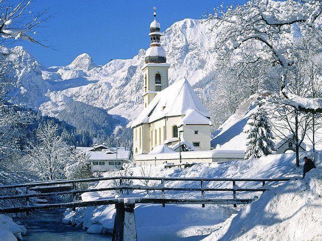 wintersporten met kerst