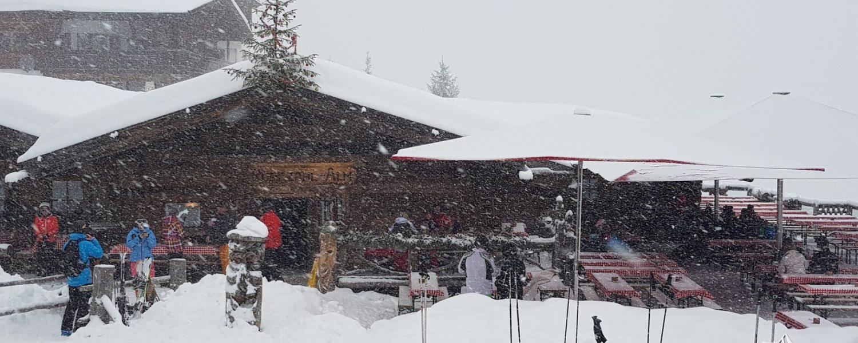 Update vanuit de sneeuw