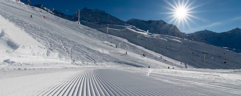 Rode pistes: Welke skigebieden in de Alpen hebben de meeste?