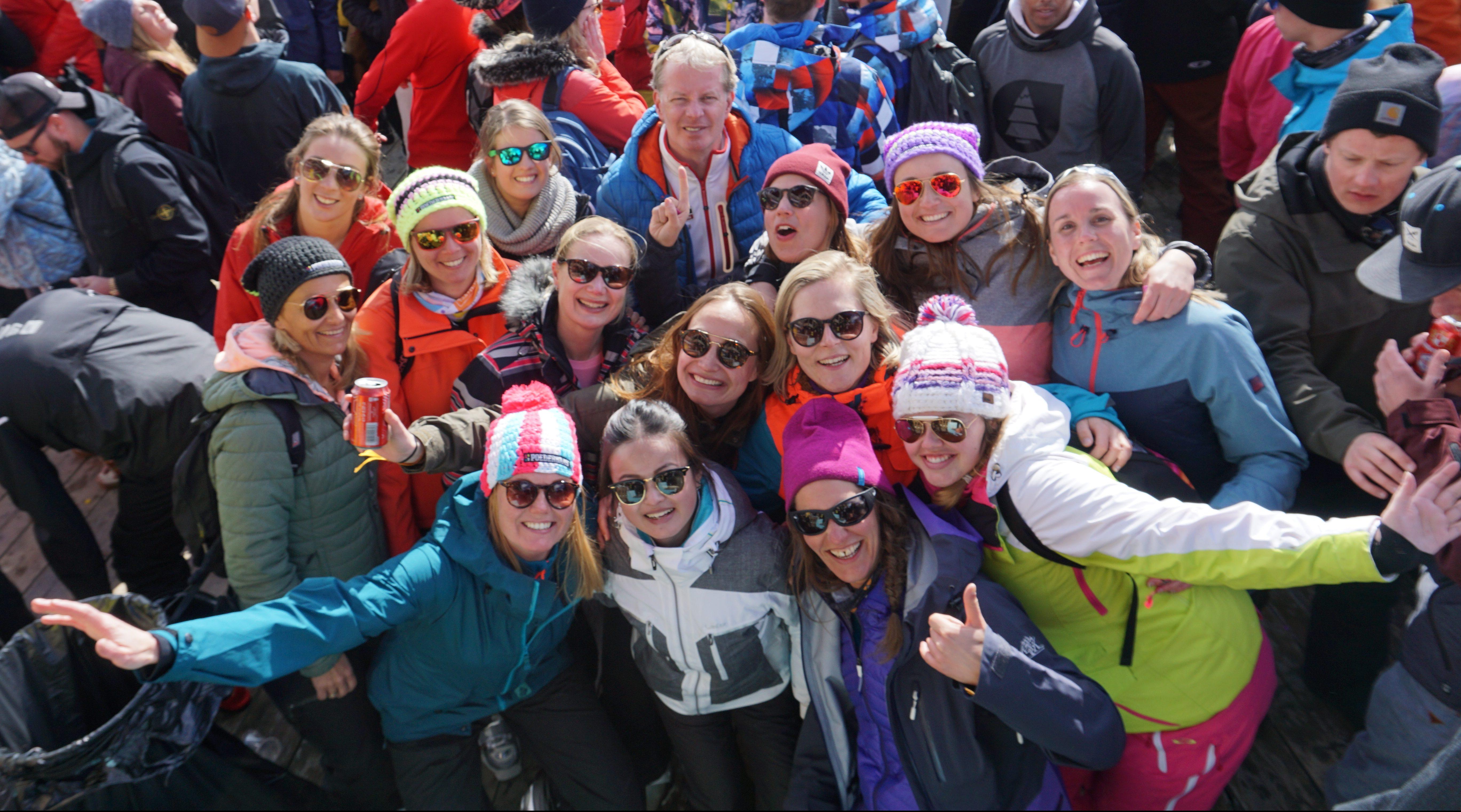 Team Summit Travel op wintersport