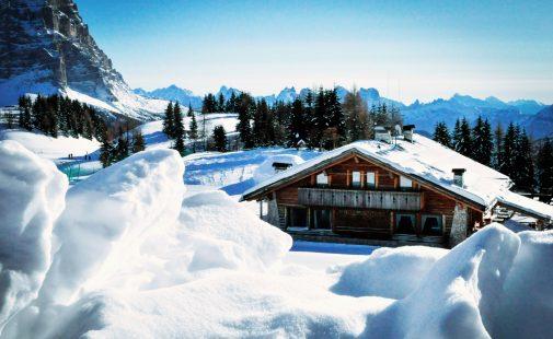 Civetta - wintersport in de Dolomieten