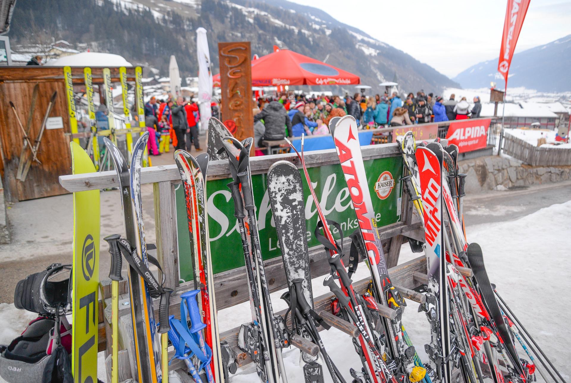Ski meteen bij een leuke berghut binnen voor het begin van jouw après-ski!