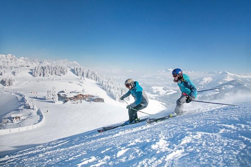 Laatste afdaling voor de après-ski in Westendorf