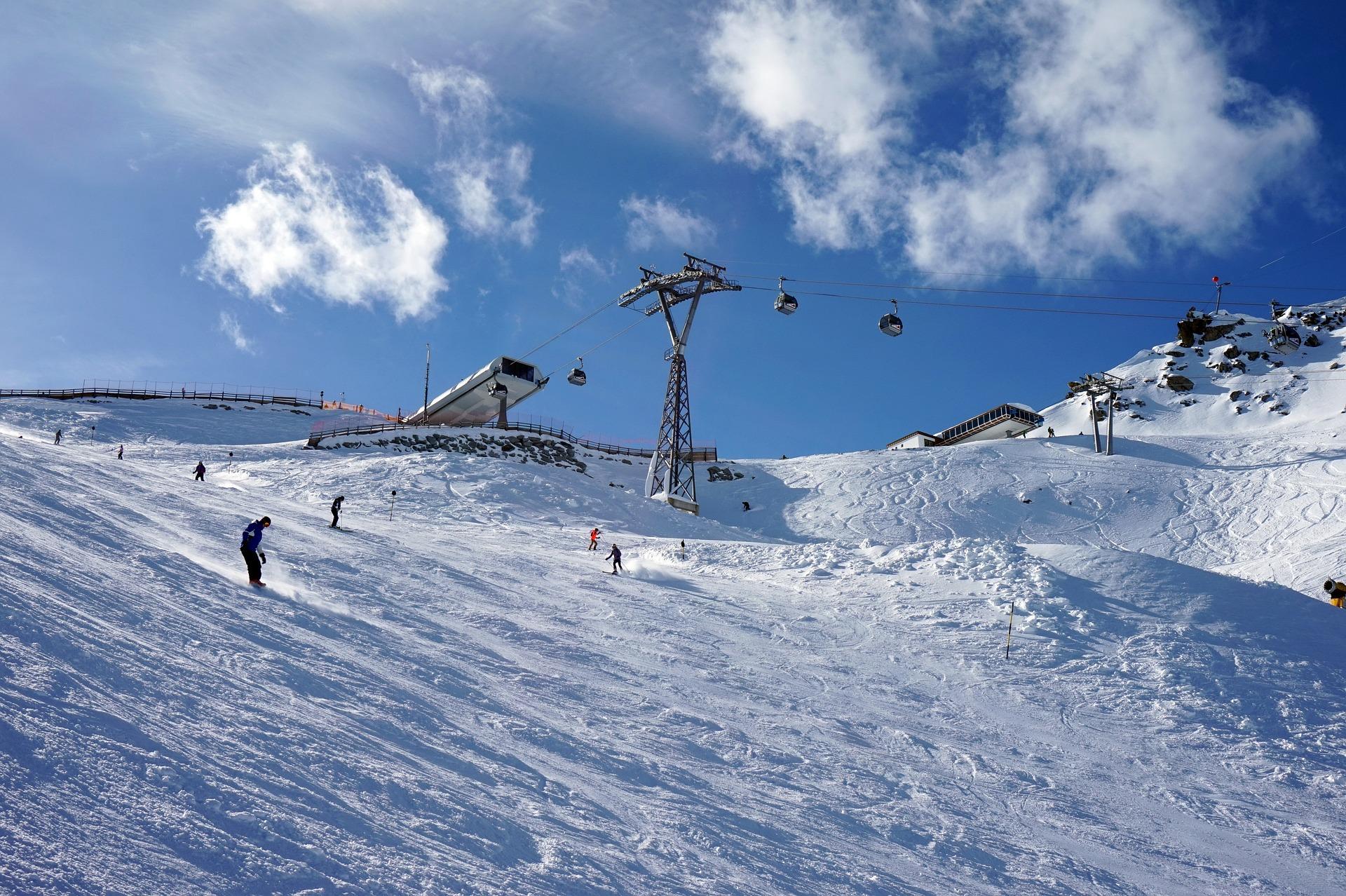 Skiën bij Sölden