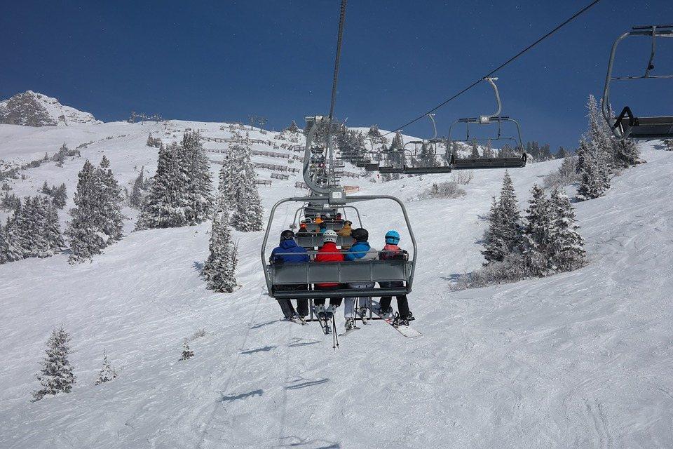 Het skigebied Ski Arlberg