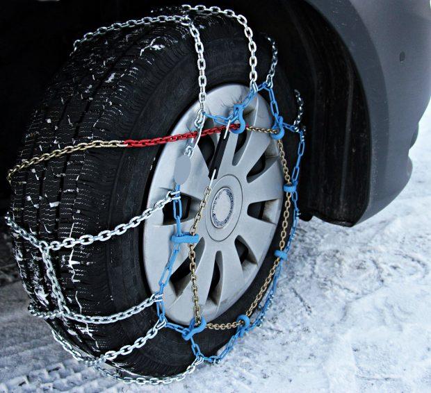 Veilig op pad met sneeuwkettingen