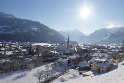 Zell am Ziller in de Oostenrijkse Alpen