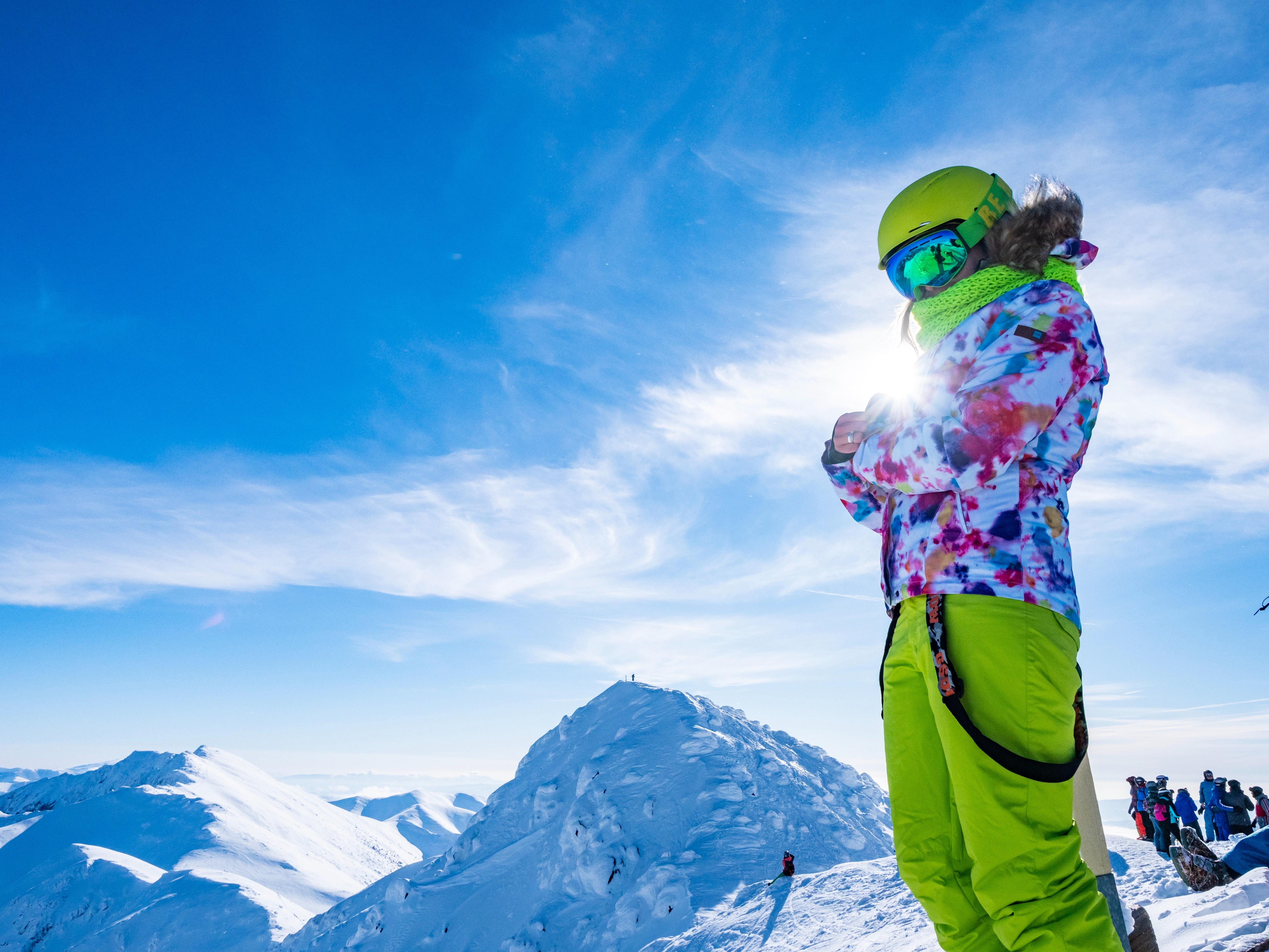Geniet van de zon tijdens het Skiën!