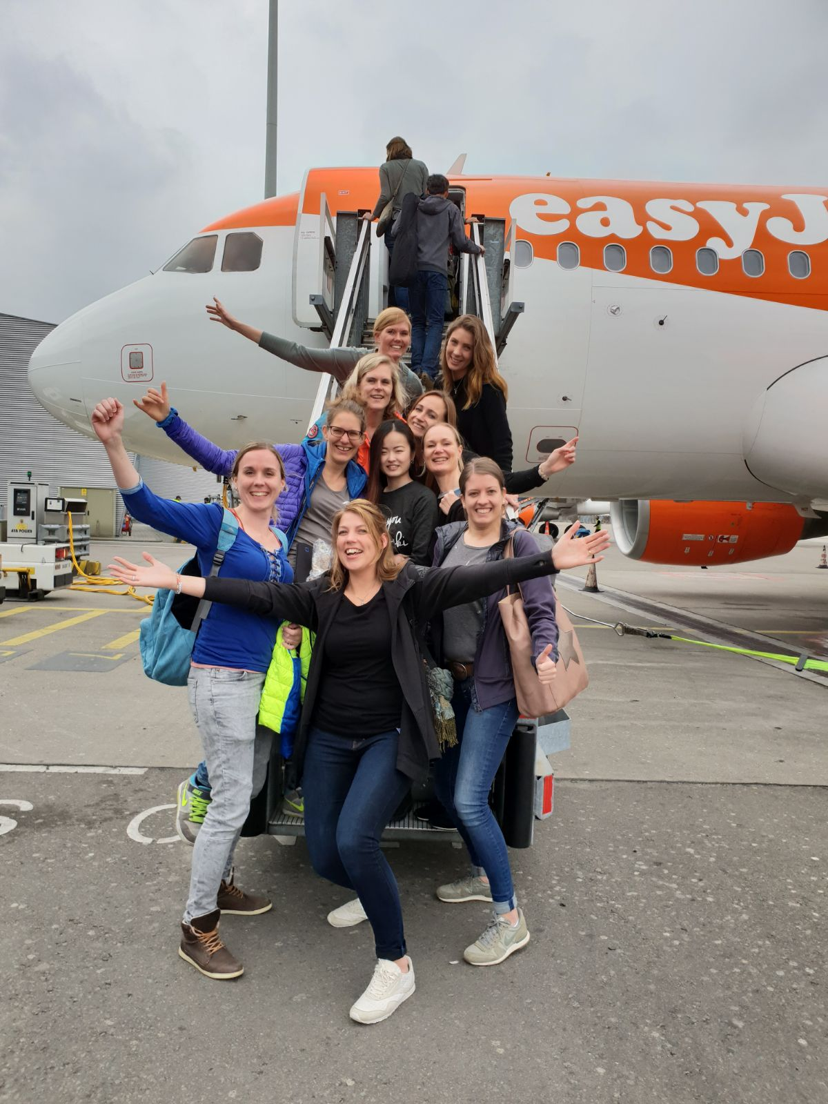 Met het vliegtuig richting Dutchweek Val Thorens