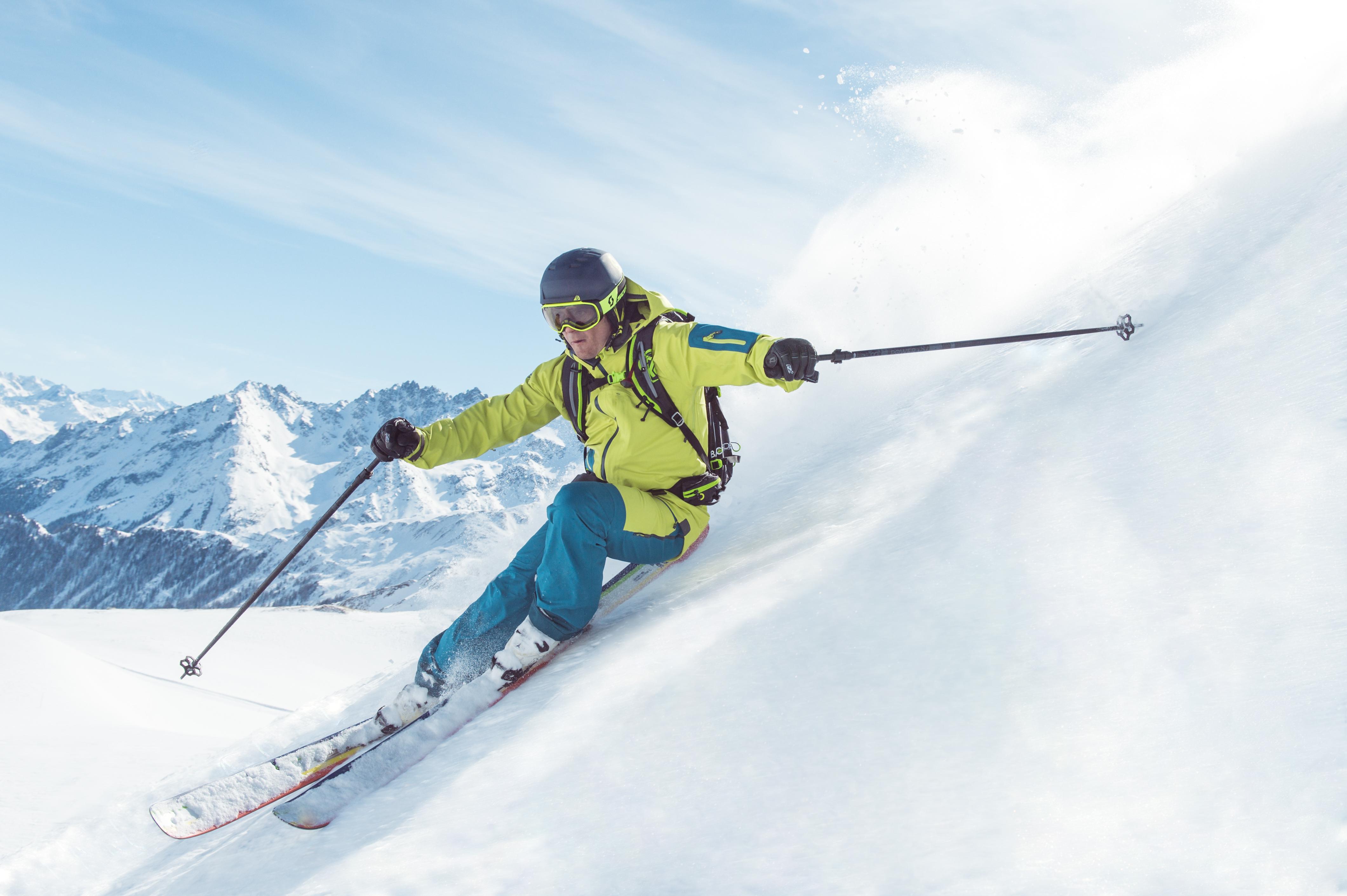Skiën in de omgeving van Ischgl