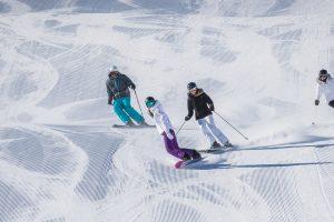 Vier Koningsdag op de piste in het Franse skidorp Val Thorens