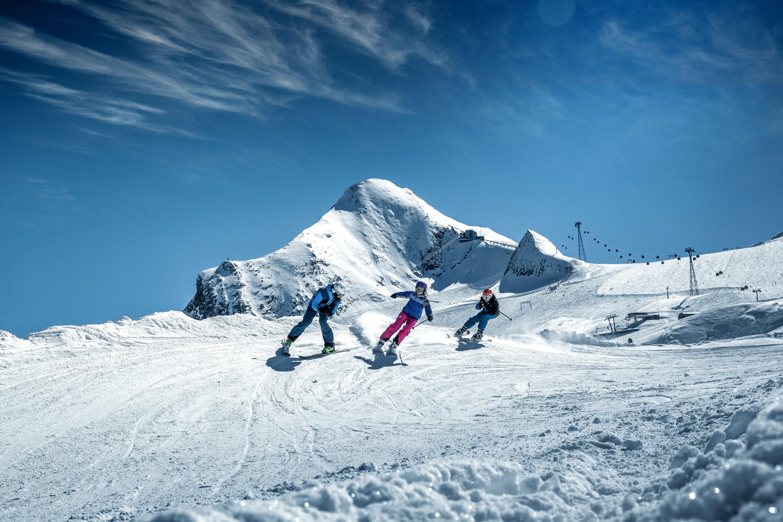 Skiën op de Kitzsteinhorn gletsjer