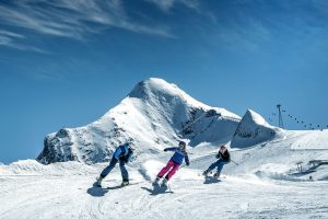 Skiën op een gletsjer in Oostenrijk, waar kan het?