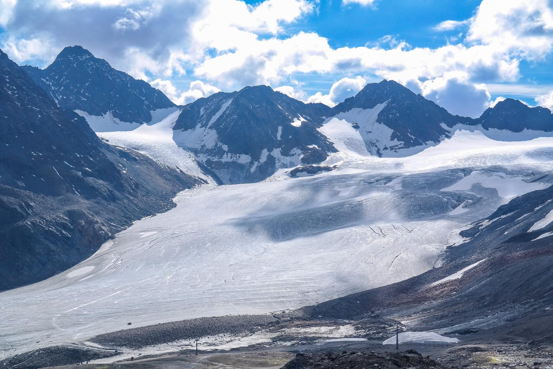De Pitztaler gletsjer