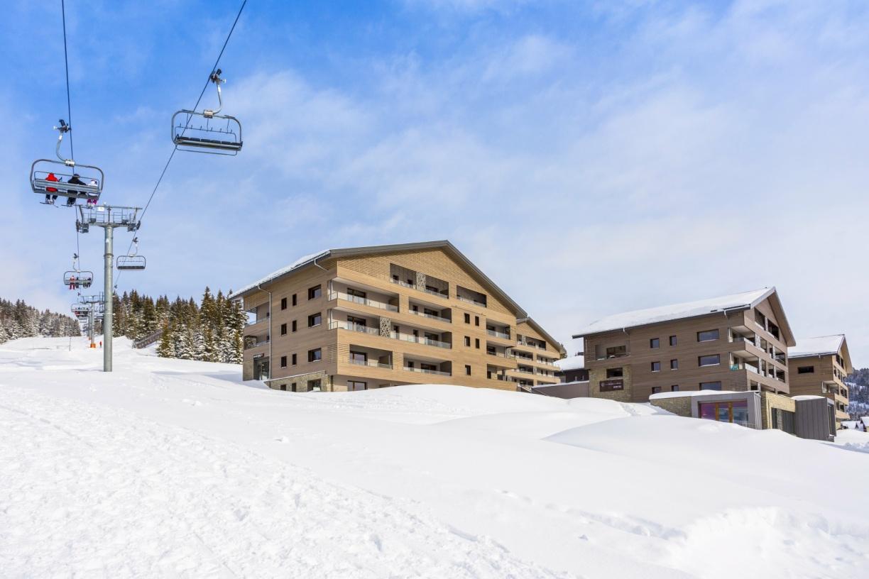 Ski-in, ski-out in Les Saisies