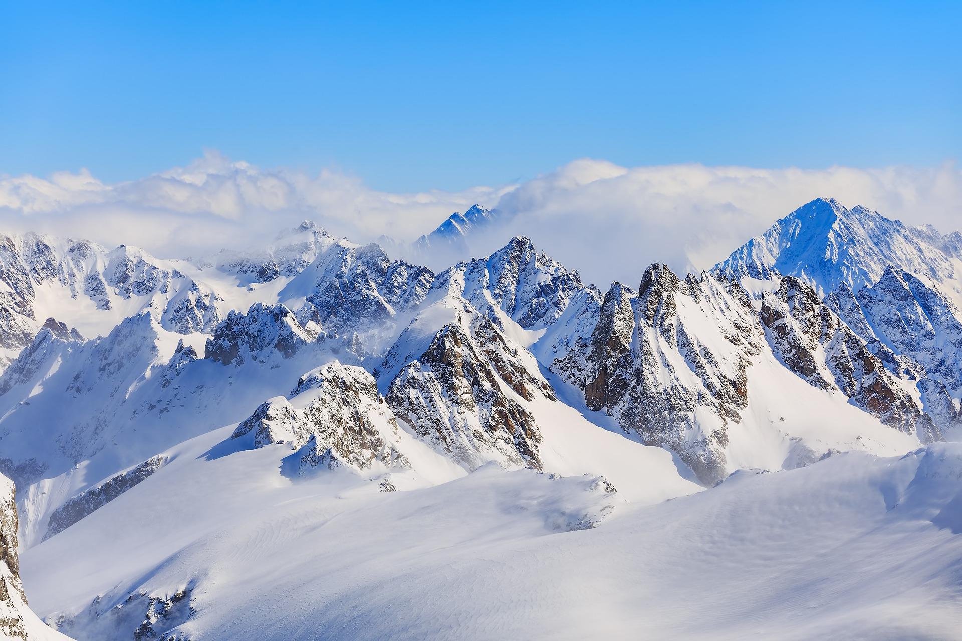 Het berglandschap bij Titlis