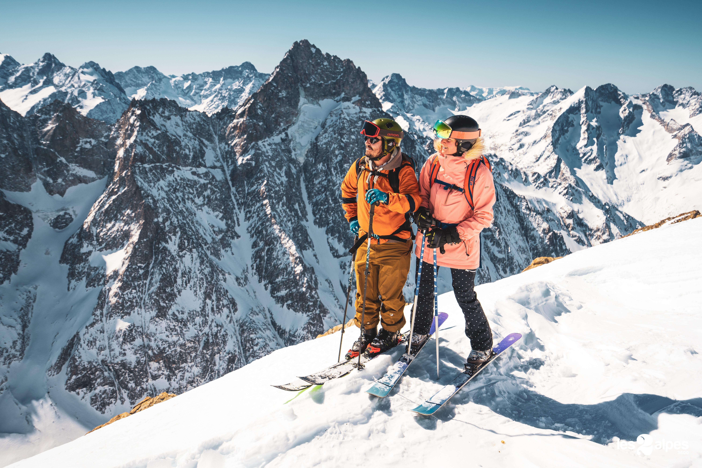 Geniet van een wintersportvakantie in Les Deux Alpes | Photo credit: Luka Leroy