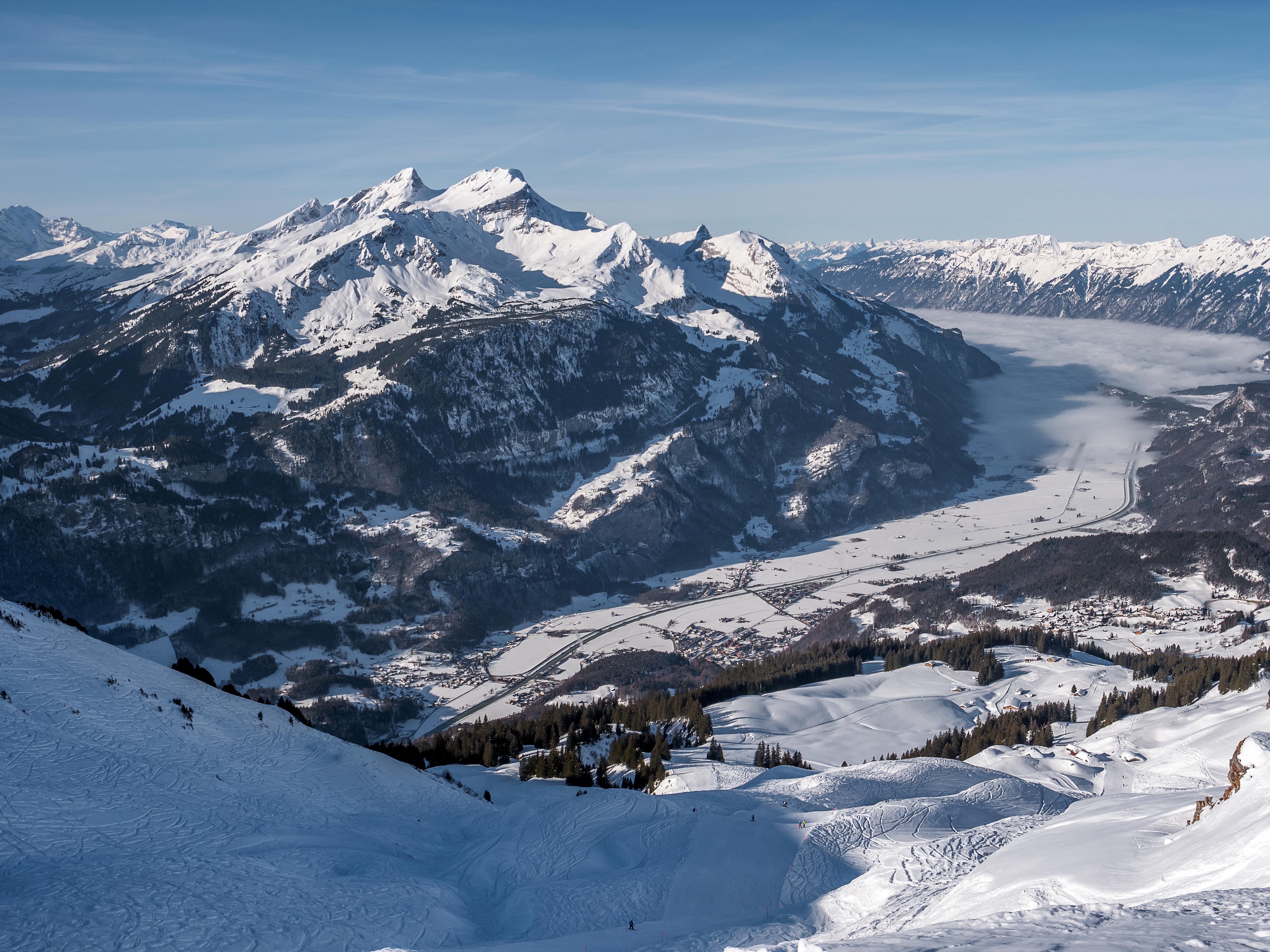 Prachtig uitzicht over het dal | © Jungfrau Region