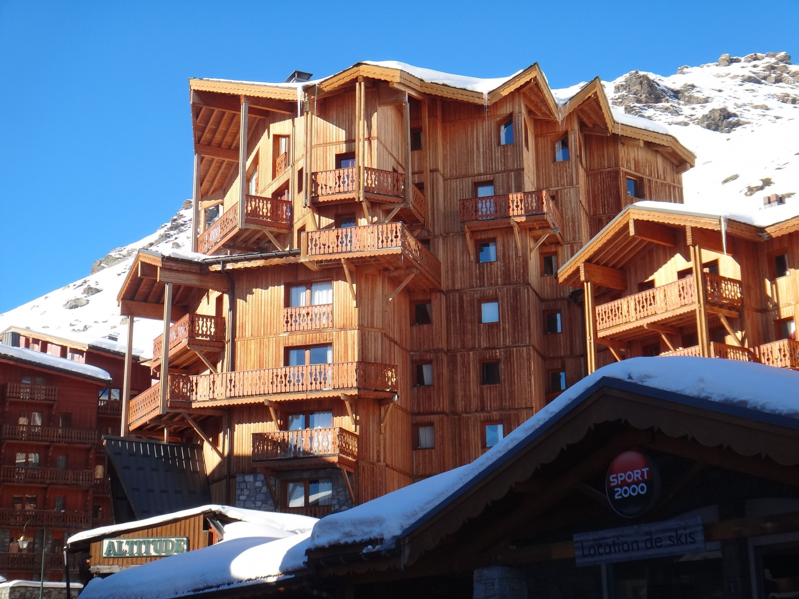 Chalet Altitude in Val Thorens