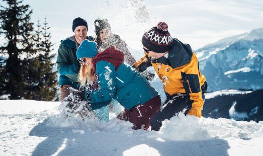 Vroeg boeken Wintersport Sneeuwballengevecht Zell am See