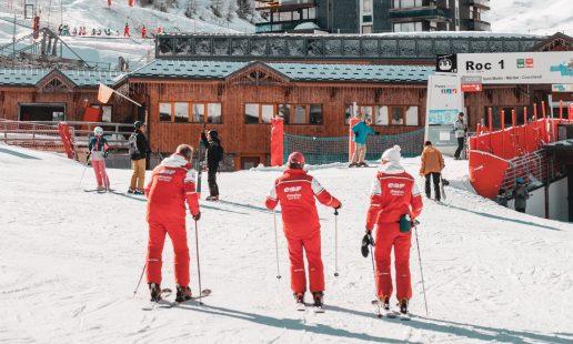 Skilessen leraren