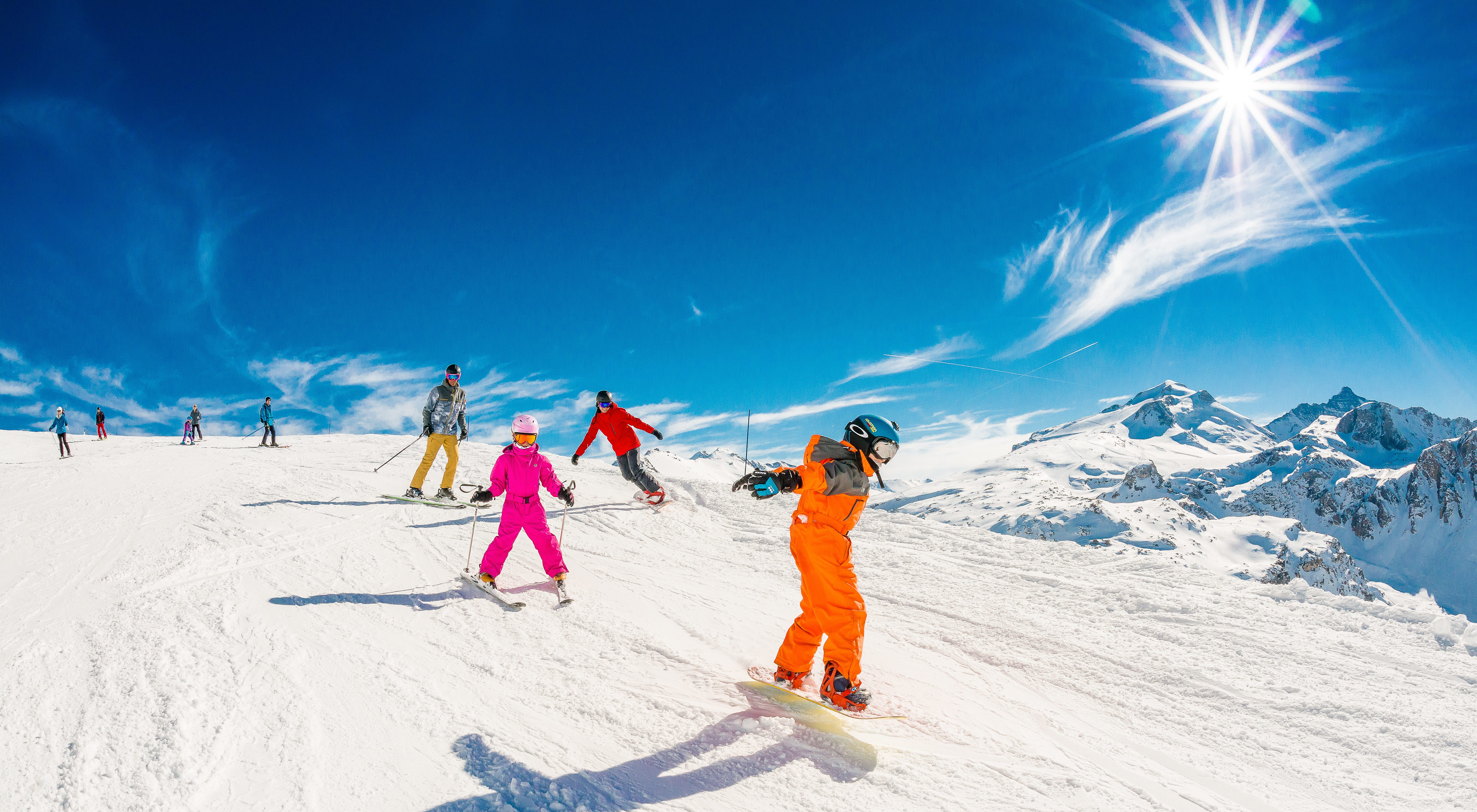 Skiën in Tignes, Frankrijd