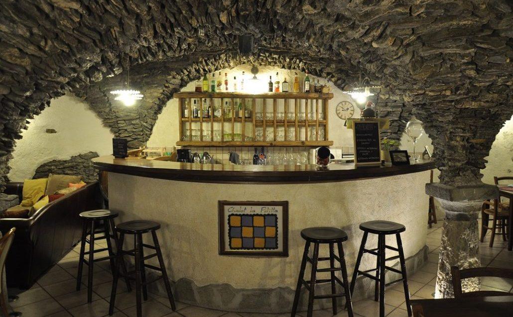 Cave catered chalet La petitta