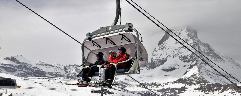 Skigebieden waar je helemaal geen gondel nodig hebt