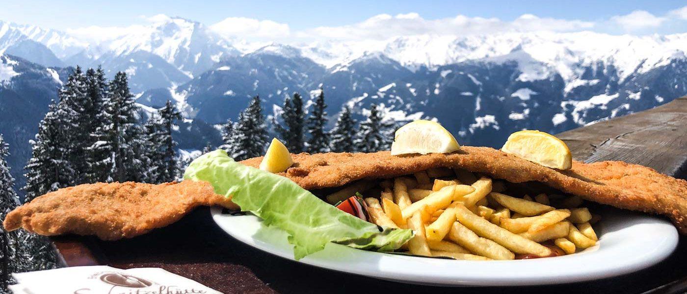 Lekker eten op wintersport in Oostenrijk