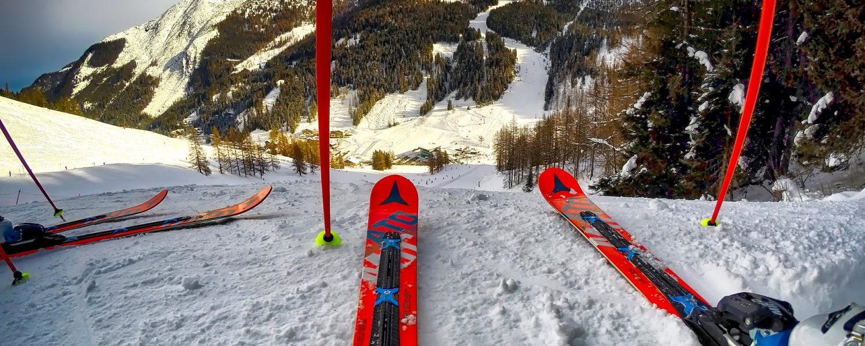 Hoe is een ski opgebouwd?
