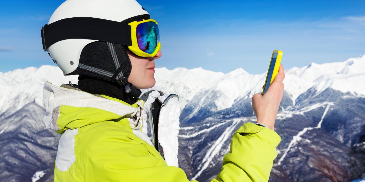 Apps die je écht moet hebben tijdens je wintersport!