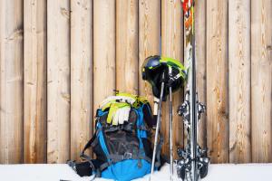 What's in my bag, tijdens een skidag?
