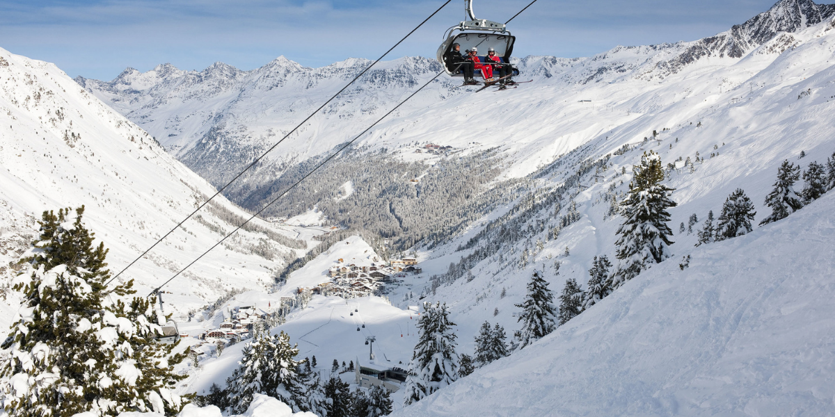 Je kunt nu al skiën in Sölden!